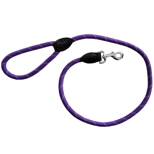Dog & Co Mountain Rope Lead Trigger Purple 48