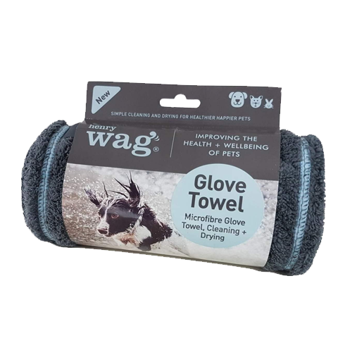 Henry Wag Microfibre Glove Drying Towel