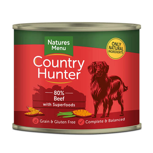 Country Hunter Tin Beef 600g