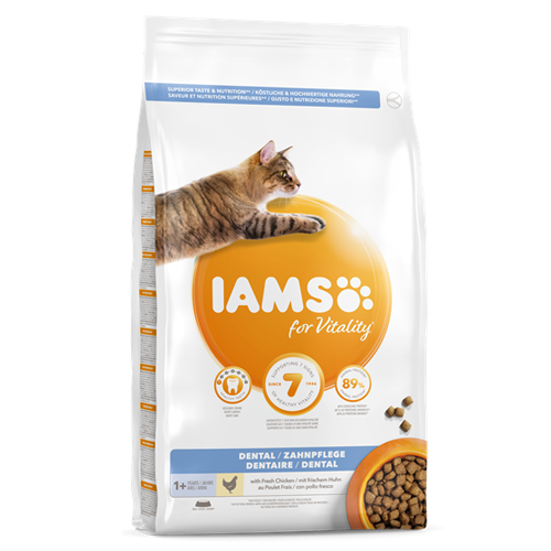 Iams Cat Vitality Dental Chicken 2kg