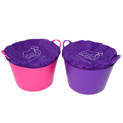 Tubtrug Breakfast & Dinner Covers Purple