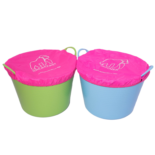 Tubtrug Breakfast & Dinner Covers Pink