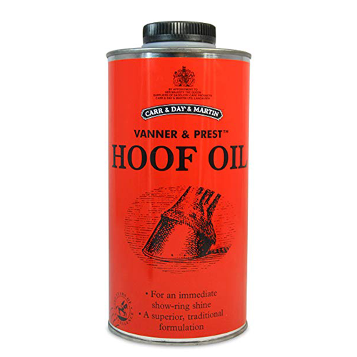 Carr, Day & Martin Vanner & Prest Hoof Oil 500ml