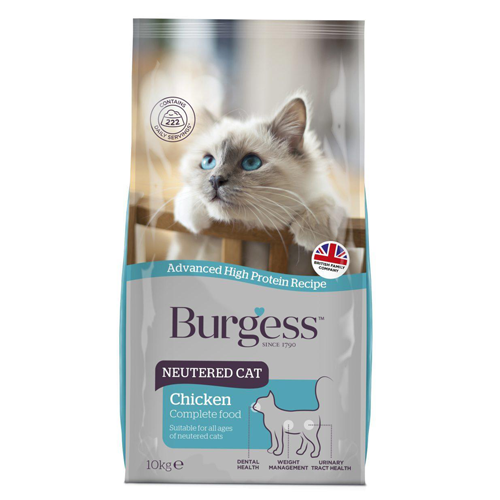 Burgess Cat Neutered 1.5kg