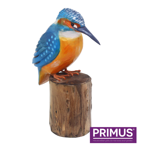 Primus RSPB Hand Carved Wooden Kingfisher