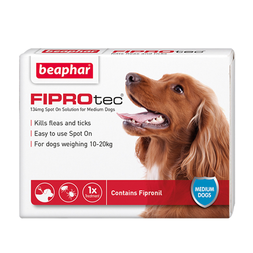 Beaphar FIPROtec Dog 134mg
