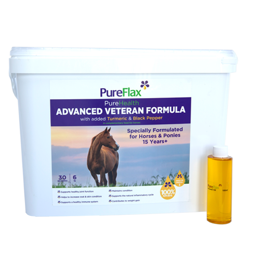 Pureflax Advanced Veteran Horse Formula 6kg