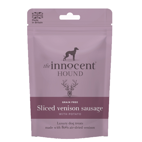 The Innocent Hound Sliced Venison Sausages 70g