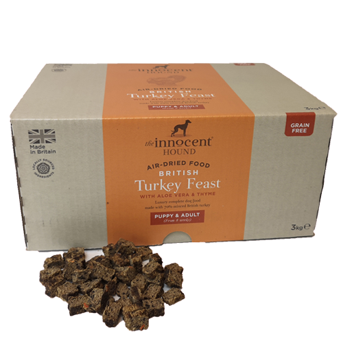 The Innocent Hound British Turkey Feast 3kg