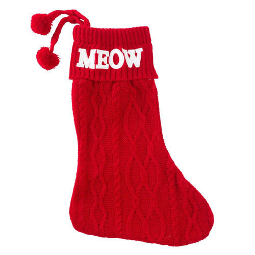 House Of Paws Meow Cat Stocking